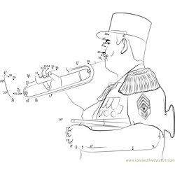Foreign Legion Bugler Bastille Day