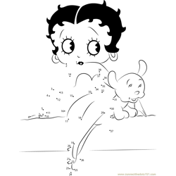 Betty Boop and her Dog