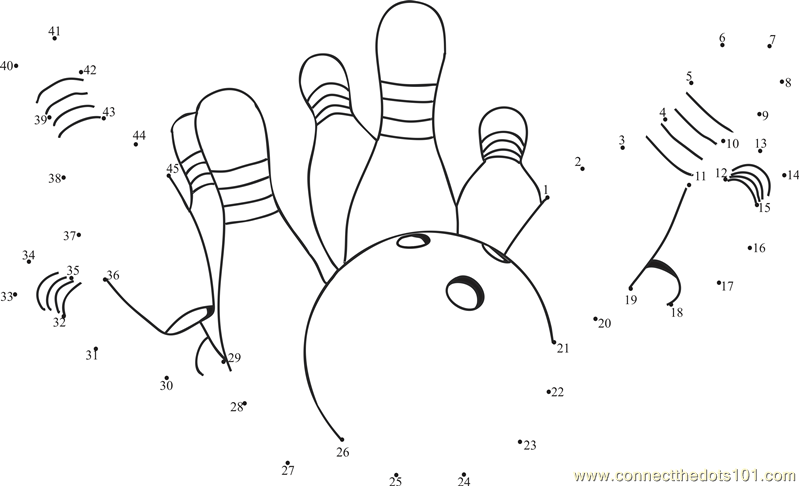 Bowling Pin Coloring Page - Cliparts.co | 486x799