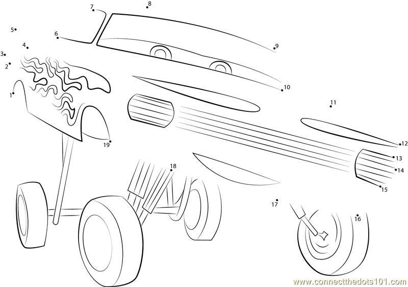 Disney Cars Ramone Dot To Dot Printable Worksheet