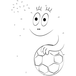 Barbapapa the Football Player