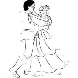 Princess and Prince Dancing