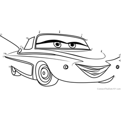 Flo from Cars 3