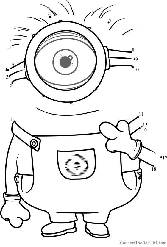 Carl Dot To Dot Printable Worksheet