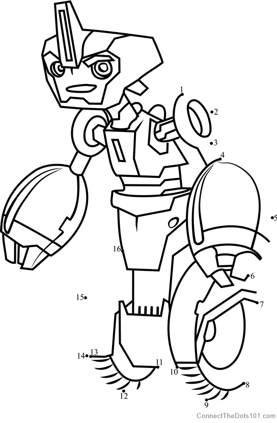 Fight Of Optimus And Megatron coloring page | Free ...