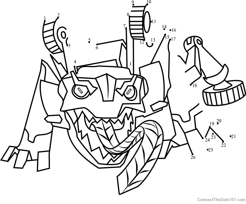 Springload From Transformers Dot To Dot Printable