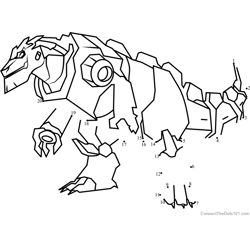 Grimlock Disguised from Transformers