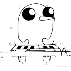 Gunter with Keyboard