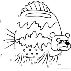 Sea Bear Dot to Dot Worksheet