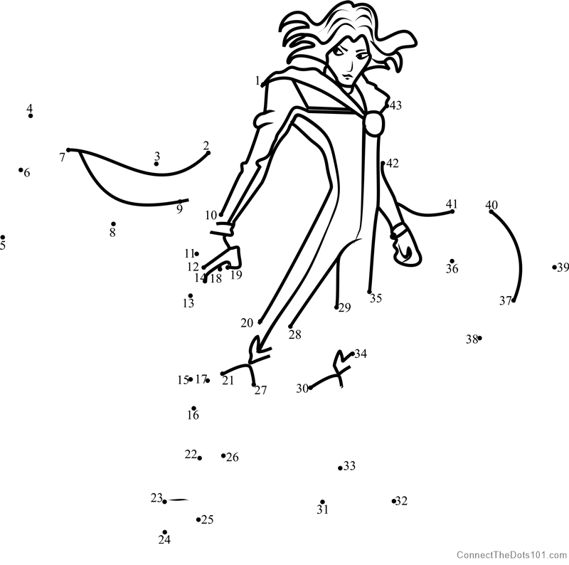 sky winx club dot to dot printable worksheet connect the dots
