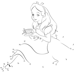 Alice with Tea