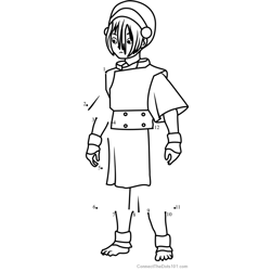 Toph Beifong from Avatar The Last Airbender