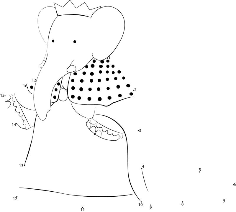 Queen lynnette dot to dot printable worksheet connect the dots queen lynnette connect the dots for kids altavistaventures Image collections