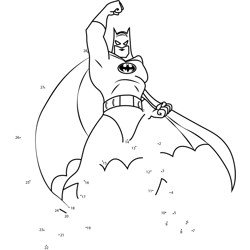 Batman Standing in Attitude