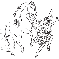 Jumping Horse and Flying Fairy