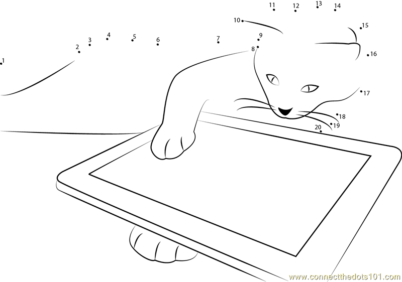 Cat in looks Tablet