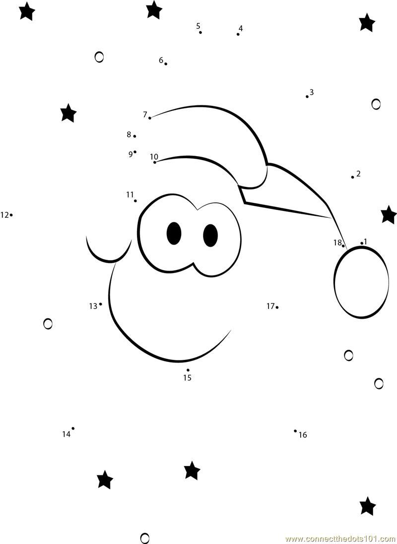 Christmas Star dot to dot printable worksheet - Connect ...