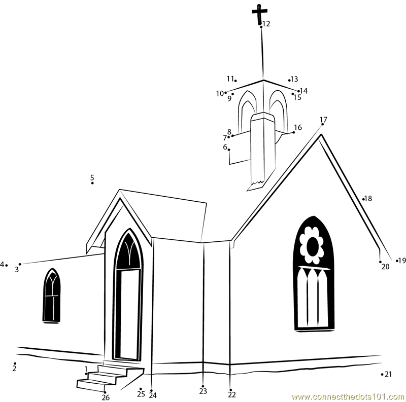 Interactive Church Tour Worksheet - That Resource Site