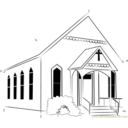 Watauga Presbyterian Church Dot to Dot Worksheet