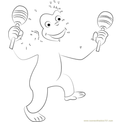 Curious George Dancing