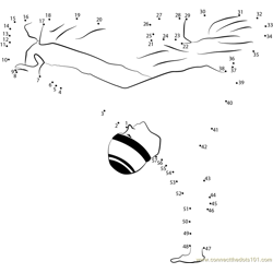Dancer Dot to Dot Worksheet