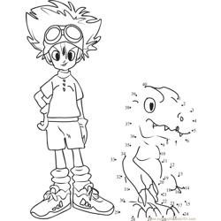 Tai Kamiya and Agumon Digimon