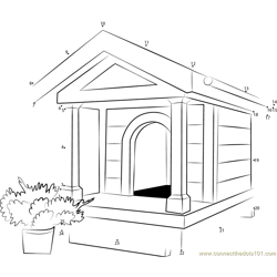 Miniature Dog House