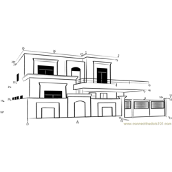Triplex Design Duplex House