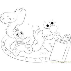 Elmo Reading Book