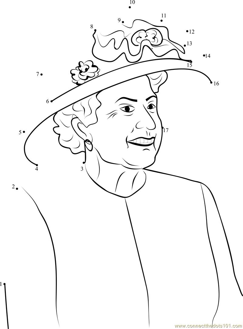 How To Draw Queen Elizabeth Ii