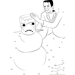 Frankenstein's Snow Monster