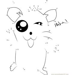laughing hamtaro