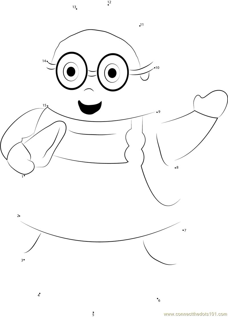 higglytown heroes coloring pages - higglytown heroes say hi dot to dot printable worksheet