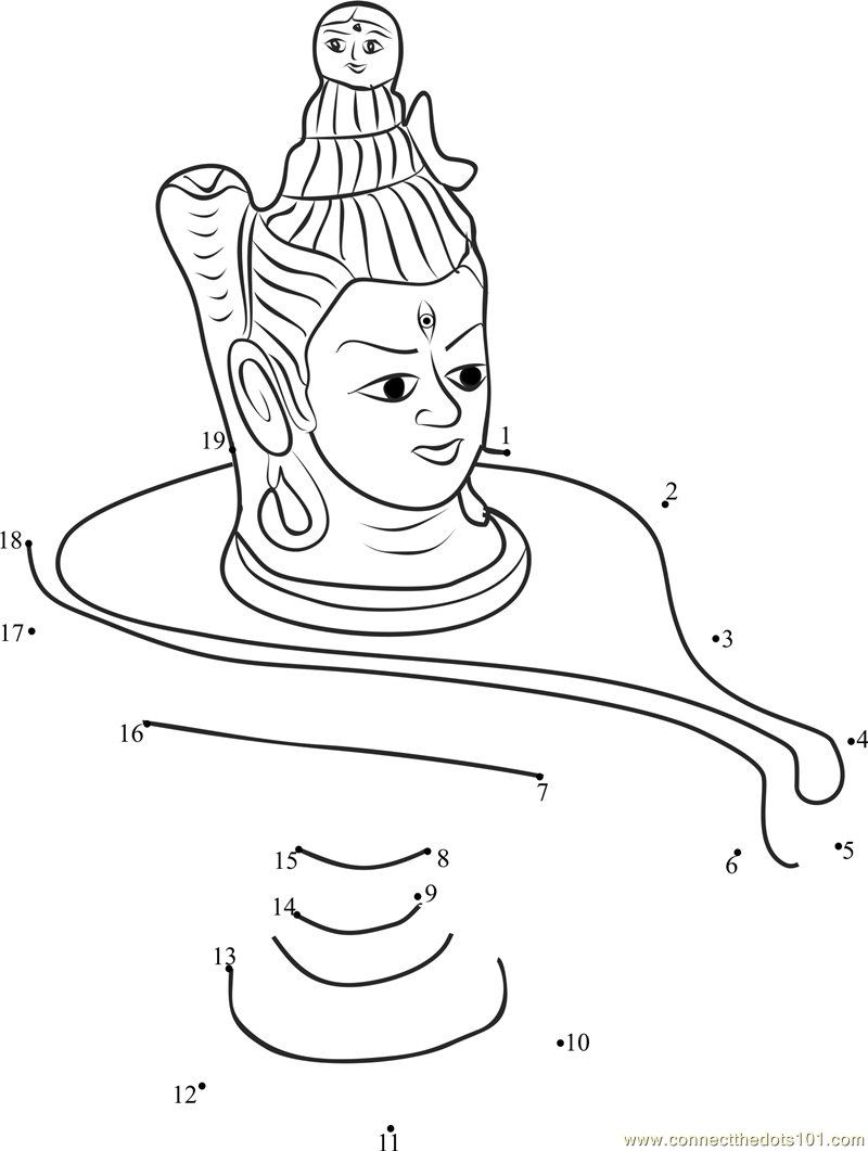 Shiva Lingam Colouring Pages Master Coloring Pages