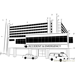 Kenyatta National Hospital Dot to Dot Worksheet