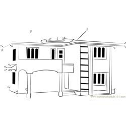 Dexton Feigi Princess Playhouse Dot To Dot Printable