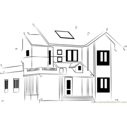 Classic home design elevation