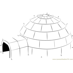 Igloo Isolated
