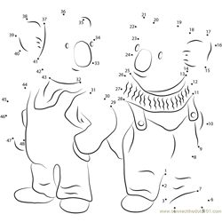Frank and Buster Dot to Dot Worksheet