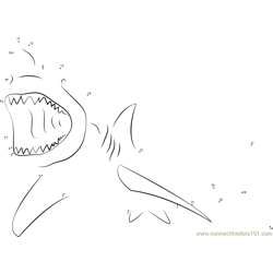 Lemon Shark Attacking