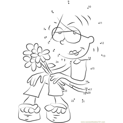 Lizzie McGuire having Flowers