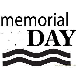 Memorial Day Patriot's Special Dot to Dot Worksheet