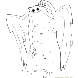 Confused Mothman