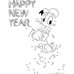 New Year with Donald Duck