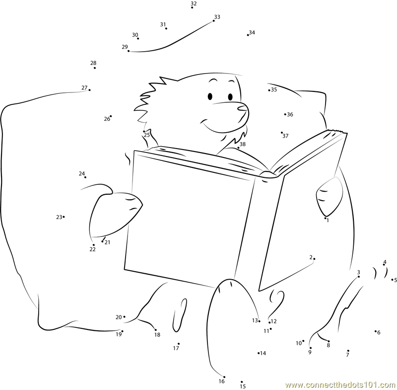 Paddington Bear Reading A Book Connect The Dots For Kids: Paddington Bear Worksheets At Alzheimers-prions.com