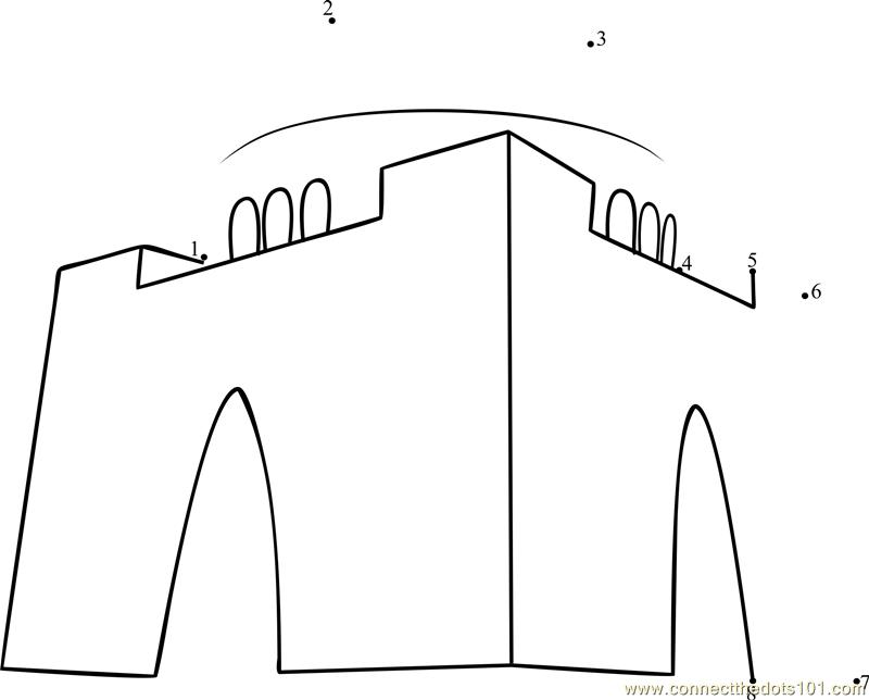Line Drawing Of Quaid E Azam : Mazar e quaid karachi pakistan dot to printable