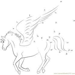 Flying Unicorn Pegasus