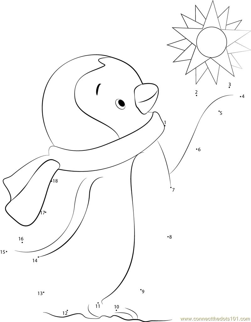 Uncategorized Penguin Worksheets happy penguin dot to printable worksheet connect the dots for kids
