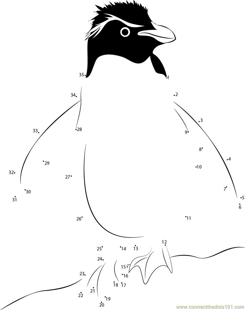 Uncategorized Penguin Worksheets penguin connect the dots printable worksheets rockhopper penguin