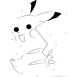 Cheerful Pikachu